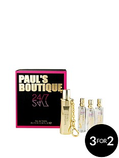 pauls-boutique-pauls-boutique-am-pmamp-247-3-x10ml-edt-gold-gadget-gift-set