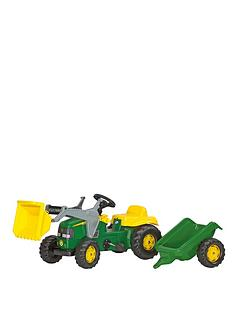rolly-toys-rolly-kid-john-deere-tractor-with-frontloader-and-trailer