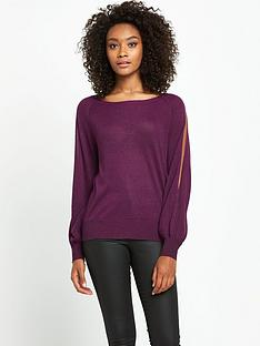 south-split-sleeve-metallic-jumpernbsp