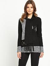 Scarf Neck Sweater