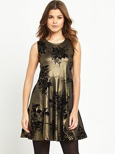 joe-browns-metallic-skater-dress