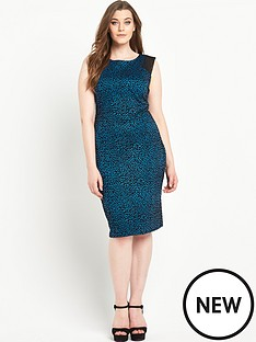 so-fabulous-animal-flock-print-mesh-insert-bodycon-dress
