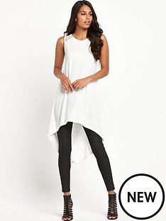south-lace-shoulder-curved-hem-tunic