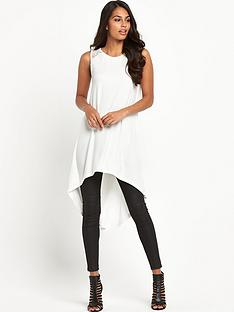 south-lace-shoulder-curved-hem-tunicnbsp