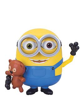 Minions Talking Minions Bob Action Figure with Teddy Bear