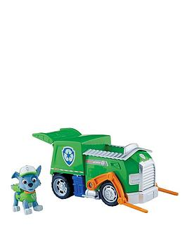 Paw Patrol Vehicle And Pup  RockyS Recycling Truck