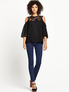 v-by-very-lace-cold-shoulder-top