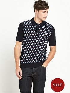 fred-perry-argyle-knitted-mensnbsppolo-shirt