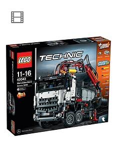 lego-technic-42043-mercedes-benz-arocsnbsp3245-articulated-construction-trucknbsp