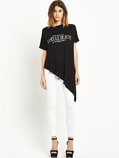 river-island-la-seule-beaute-asymmetric-t-shirt