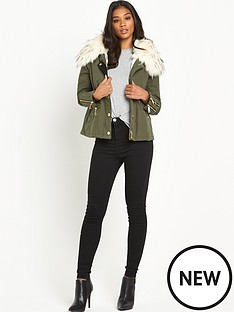 river-island-faux-fur-trim-short-parka