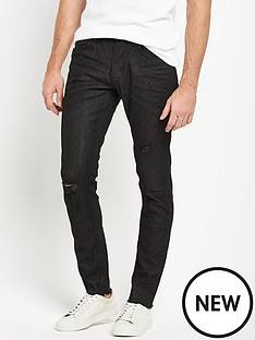 river-island-black-coater-greaser-mens-jeans