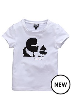 karl-lagerfeld-girls-karl-and-choupettenbspsilhouette-t-shirt