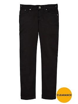 karl-lagerfeld-girls-slim-leg-twill-pants