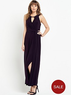 wallis-wallis-necklace-maxi-dress