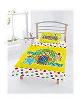 with Mr Tumble Toddler Duvet Cover Set