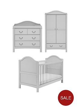 east-coast-toulouse-cot-bed-dresser-and-wardrobe