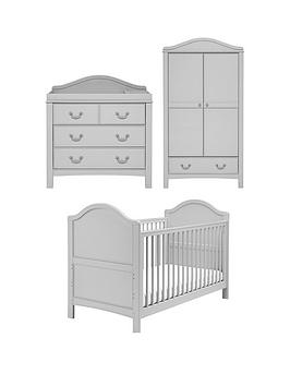 East Coast   Toulouse Cot Bed, Dresser And Wardrobe