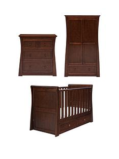 east-coast-devon-cot-bed-wardrobe-amp-dresser