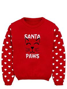 freespirit-girls-santa-paws-jumper