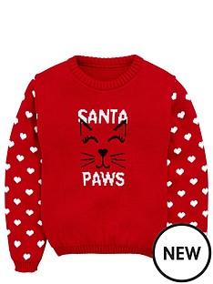 freespirit-girls-santa-paws-jumper