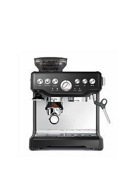 Sage By Heston Blumenthal Bes870Bsuk Baristas Express Coffee Machine  Black