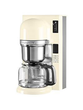 Kitchenaid 5Kcm0802Bac Pour Over Coffee Brewer  Almond Cream