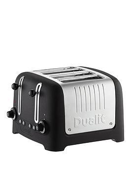 dualit-46294-stoneware-basalt-black-4-slot-toaster