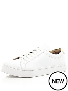 river-island-river-island-white-fawyer-lace-up-plimsoll
