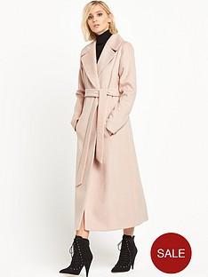 miss-selfridge-beltednbspmaxi-coat