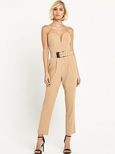 miss-selfridge-miss-selfridge-oversized-buckle-jumpsuit