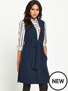 miss-selfridge-d-ring-wrap-waistcoat