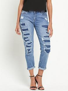 miss-selfridge-esther-rip-and-repair-boyfriend-jeans