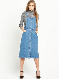 miss-selfridge-mid-wash-button-through-dress