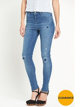 miss-selfridge-miss-selfridge-lizzie-rip-amp-repair-skinny-jeans