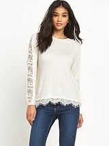 Lace Back 2 in 1 Jumper