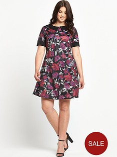 so-fabulous-print-collar-scuba-tea-dress