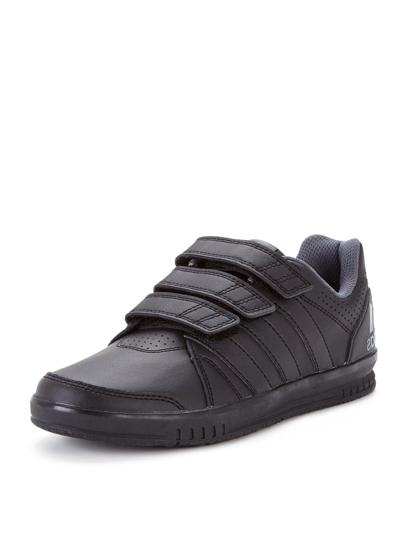 kids black adidas trainers