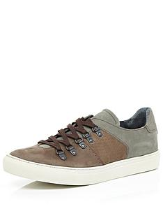 river-island-river-island-mens-d-ring-trainer-brown