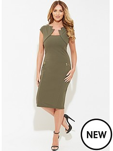 amy-childs-polly-khaki-bodycon-dress