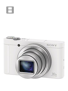 sony-cybershot-dsc-wx500-182-mp-30x-zoom-digital-compact-camera-with-selfie-screen-white