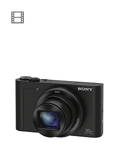 sony-cybershot-dsc-wx500-182-mp-30x-zoom-digital-compact-camera-with-selfie-screen-black