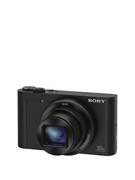 sony-cybershot-dsc-wx500-182-mp-30x-zoom-digital-compact-camera-with-selfie-screen-black