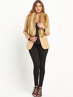 river-island-faux-fur-collar-blazer