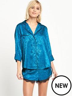 river-island-oriental-jacquard-pyjama-shirt