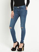 Super Skinny Amelie Blur Jeans