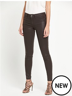 river-island-river-island-molly-jegging-coated-chocolate