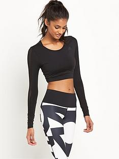 adidas-cropped-long-sleeved-topnbsp
