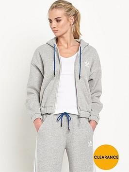 adidas-originals-train-snap-oversized-hooded-topnbsp