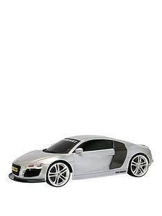 new-bright-110-scale-audi-r8-silver